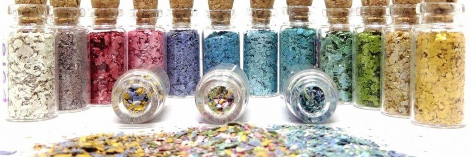 glitter sustentável